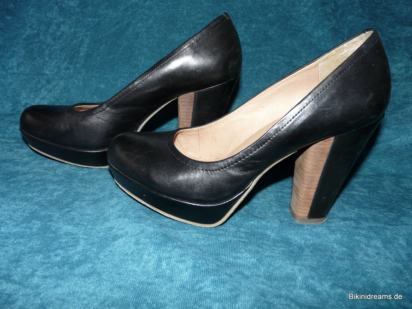 5th Avenue, Pumps, Schuhe, rot, Leder, Gr. 37, NEU in